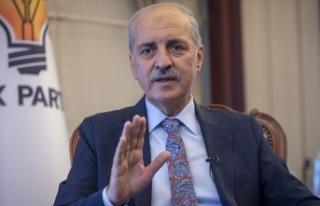 AK Parti'li Kurtulmuş: Müslümanlığa saldıran...