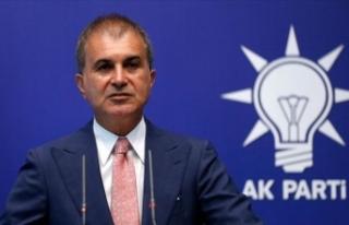 AK Parti Sözcüsü Çelik'ten Meis Adası'na...