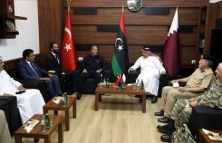 Bakan Akar: Libya Libyalılarındır diyerek BM tarafından...