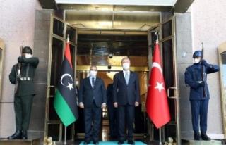 Bakan Akar, Libya Yüksek Devlet Konseyi Başkanı...