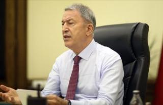 Milli Savunma Bakanı Akar: Terör belasından asil...
