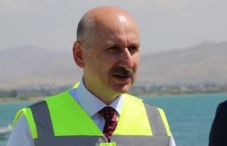Bakan Karaismailoğlu: 'Van bölgesinde 9 milyar...