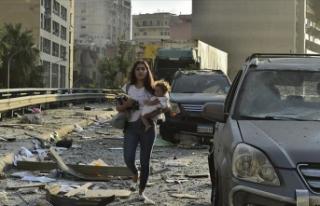 Beyrut'ta patlamanın ardından 2 hafta olağanüstü...