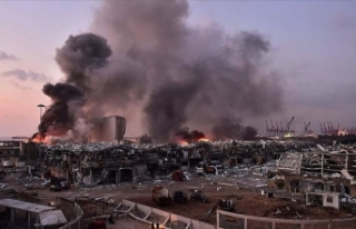Beyrut'taki patlamada can kaybı 100'e,...