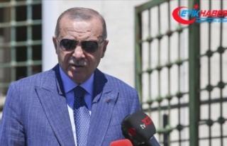 Cumhurbaşkanı Erdoğan: (BAE-İsrail anlaşması)...