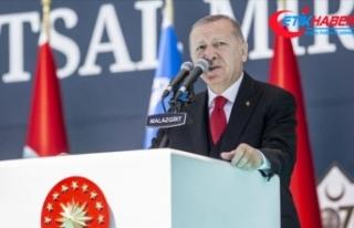 Cumhurbaşkanı Erdoğan: Biz nasıl kimsenin toprağına...