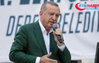 Cumhurbaşkanı Erdoğan: Giresun'a 73,5 milyon...