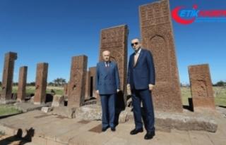 Cumhurbaşkanı Erdoğan ve MHP Lideri Bahçeli, Ahlat'taki...