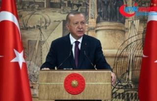 Cumhurbaşkanı Erdoğan'ın doğal gaz açıklaması...
