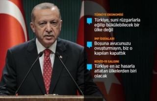 Cumhurbaşkanı Erdoğan: Akdeniz'de kendi planlarımızı...