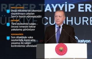 Cumhurbaşkanı Erdoğan: Cuma günü vereceğimiz...
