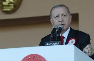 Cumhurbaşkanı Erdoğan: Karada, denizde ve havada...