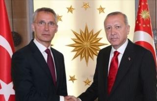 Cumhurbaşkanı Erdoğan, Stoltenberg ile Doğu Akdeniz'i...