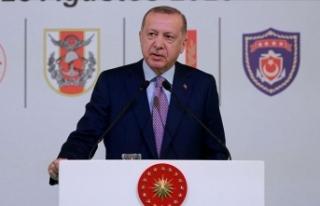 Cumhurbaşkanı Erdoğan: Türkiye savunma sanayisinde...