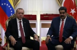 Cumhurbaşkanı Erdoğan Venezuela Devlet Başkanı...