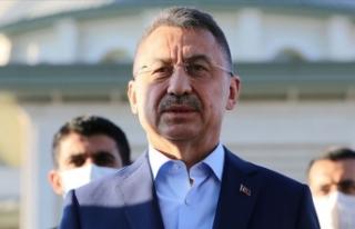 Cumhurbaşkanı Yardımcısı Oktay'dan 'Doğu...