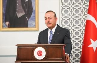 Dışişleri Bakanı Çavuşoğlu'ndan 'diplomaside...