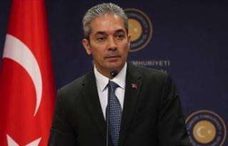Dışişleri Bakanlığı Sözcüsü Aksoy: Cammu...