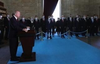 Erdoğan: 2023'e ekonomik, askeri, siyasi ve...