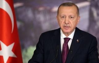 Cumhurbaşkanı Erdoğan Hiroşima için mesaj yayımladı
