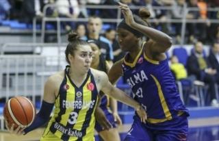 FIBA Kadınlar Avrupa Ligi'nde Türk takımlarının...