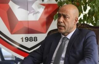 Gaziantep FK'de sportif direktör Fatih İbradı...