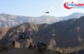 Hakkari'de terör örgütü PKK/KCK'ya ağır...