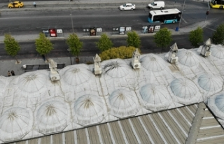 İstanbul'da 472 yıllık tarihi camide tepki...