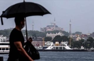 İstanbul'da öğleden sonra sağanak bekleniyor