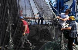 İstanbullu balıkçılar 1 Eylül mesaisinde