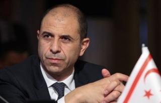 KKTC Dışişleri Bakanı Özersay: Gelişmeler kapalı...