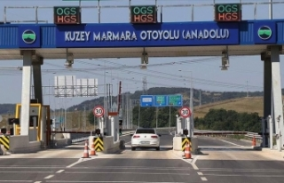 Kuzey Marmara Otoyolu'nda sorumluluk jandarmada...
