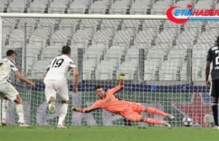 Lyon zoru başardı, Devler Ligi'nde son 8'e kaldı