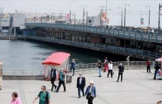 Marmara Bölgesi'nde sıcaklıklar mevsim normallerinin...