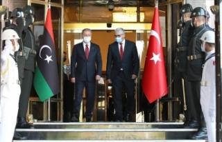 Milli Savunma Bakanı Akar, Libya İçişleri Bakanı...