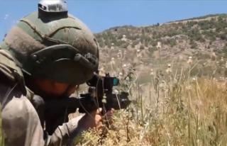 MSB: Pençe-Kaplan Operasyonu bölgesinde 3 terörist...