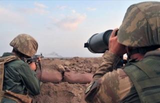 MSB: Zeytin Dalı bölgesinde 8 PKK/YPG'li terörist...