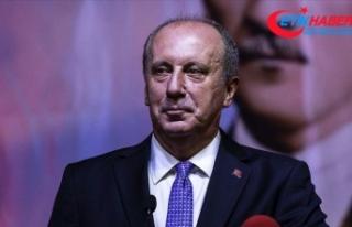 Muharrem İnce: 4 Eylül'de Sivas'tan 'Bin...