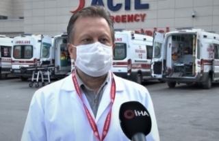 Prof. Dr. Oğuztürk uyardı: 'Deride döküntü...