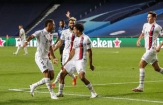 PSG, 3 dakikada yarı final biletini aldı