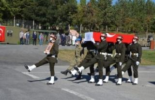 Şehit Çıkın için Hakkari'de tören düzenlendi