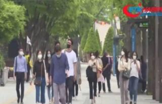 Seul'de maske takma zorunluluğu getirildi