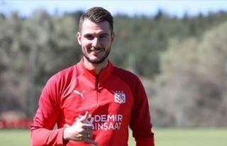 Sivasspor'un yeni transferi Robin Yalçın sağlık...