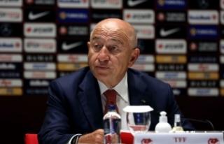 TFF Başkanı Özdemir: Milli takımlarımız sponsorlar...