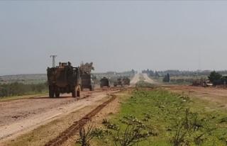Türkiye ile Rusya'nın İdlib M4 kara yolundaki...
