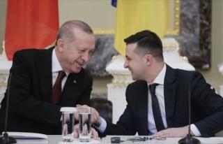 Ukrayna Devlet Başkanı Zelenskiy, Erdoğan'ı...