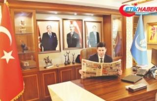 Ülkü Ocakları Genel Başkanı Ahmet Yiğit Yıldırım:...