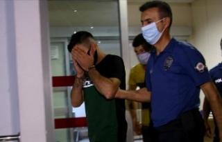 Adana'da kız arkadaşını darbeden ve 9. kattaki...
