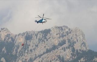 Adana'daki orman yangını 4 gün sonra kontrol...