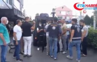 Adliye önünde iki grup arasında silahlı kavga